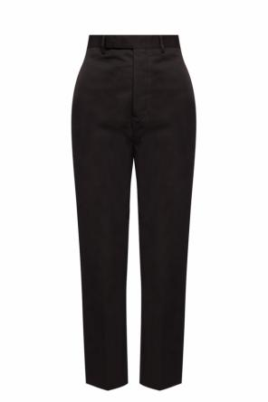 Pleat-front trousers with pockets od Rick Owens